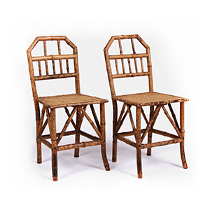 Medium bamboo chairs