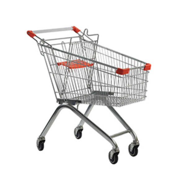 Large csi wholesale shopping trolley   100 litre