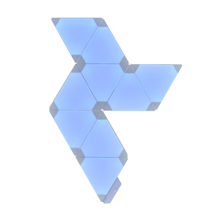 Medium nanoleaf blue