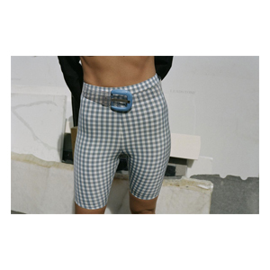 Medium jaguar shorts  black crisp check