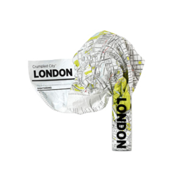 Large london   crumpled city map   palomar
