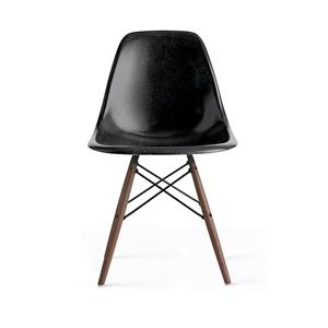 Medium design within reach eames  molded fiberglass dowel leg side chair  dfsw
