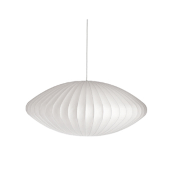 Large nelson  saucer pendant lamp
