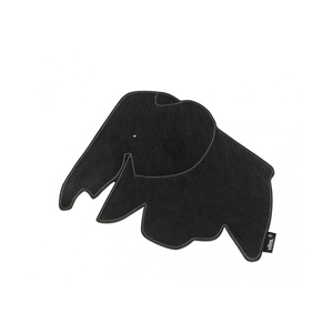 Medium vitra elephant mouse pad black