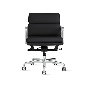 Medium design within reach eames  soft pad management chair with pneumatic lift