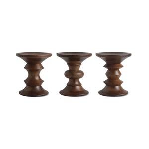 Medium design within reach eames  walnut stool
