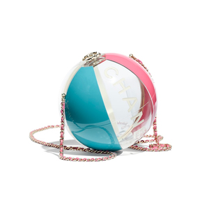 Medium chanelbeach ball minaudiere