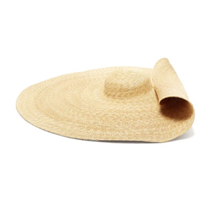 Medium jacquemus bomba extra large straw hat