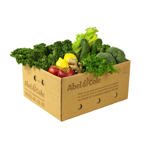 Medium abel   cole green juicing box  3kg approx.