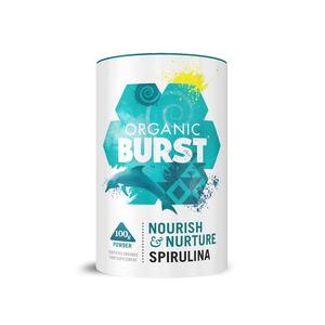 Medium abel and cole spirulina powder  organic burst  100g