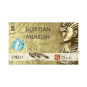 Medium pass for egy tion museum