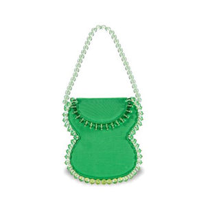 Medium frida green grosgrain