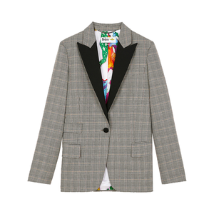 Medium check jacket