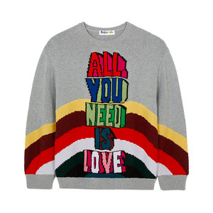 Medium all you need is love jumper