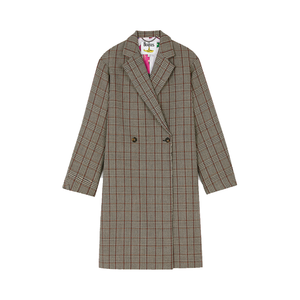 Medium check coat