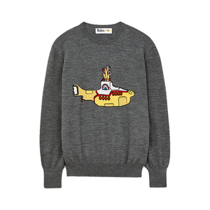 Medium yellow submarine sweater