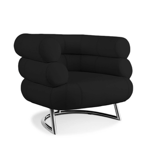 Medium bibendum armchair   eileen gray style   faux leather