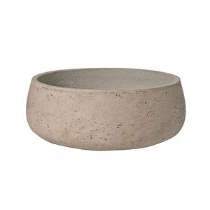 Medium eileen plant bowl   grey washed
