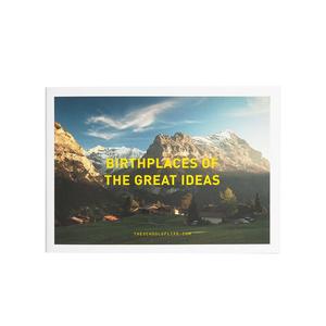 Medium school of life birthplaces of the great ideas postcard