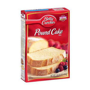 Medium pound cake