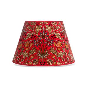 Medium hyacinth red lampshade
