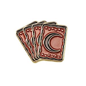 Medium tarot lapel pin