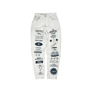 Medium white jeans