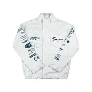 Medium white jacket