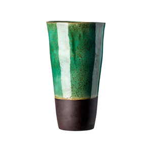Medium clementina van der walt large vase emerald