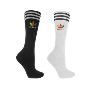 Medium adidas originals   pharrell williams dear baes set of two cotton blend knee socks2