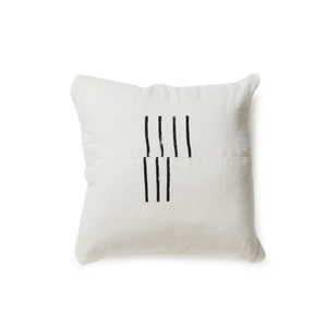 Medium trnk hand printed linen pillow1
