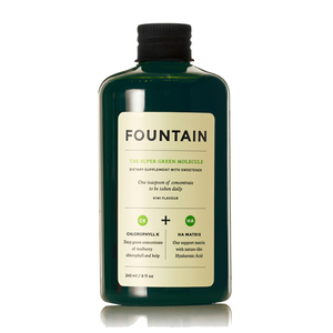 Medium fountain the super green molecule