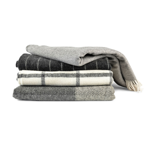 Medium trnk irish wool throws