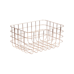 Medium darkroom grid basket 4  copper