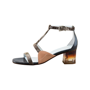 Medium finery clarence leather ankle strap sandals