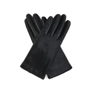 Medium matches agnelle chloe calf hair and leather gloves