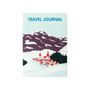 Medium merci travel journal notebook