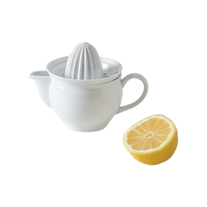 Medium march azmaya white porcelain citrus juicer