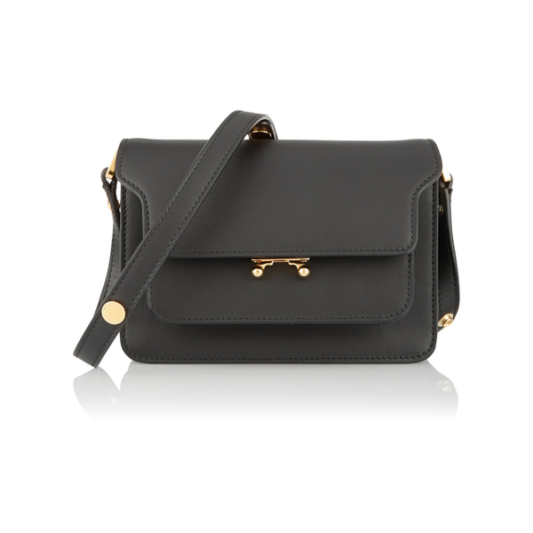 Marni - Trunk mini leather shoulder bag - Semaine fca036f49bc9d