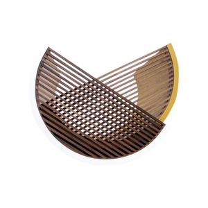 Medium leibal moire side table