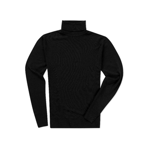 Medium sunspel men s fine merino roll neck jumper