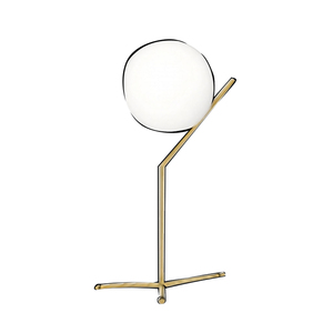 Medium michael anastassiades brushed brass table lamp