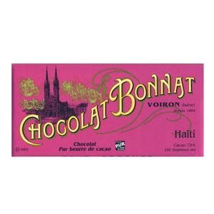 Medium choclolate trading company bonnat haiti  75  dark chocolate bar