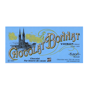 Medium chocolate trading company bonnat kaori  75  dark chocolate bar
