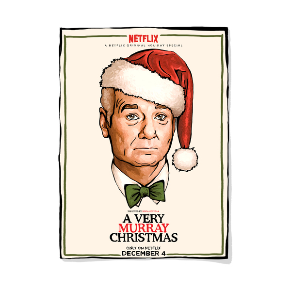 A Very Murray Christmas.Netflix A Very Murray Christmas Semaine