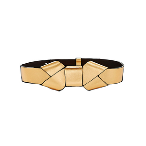 Medium marni gold belt