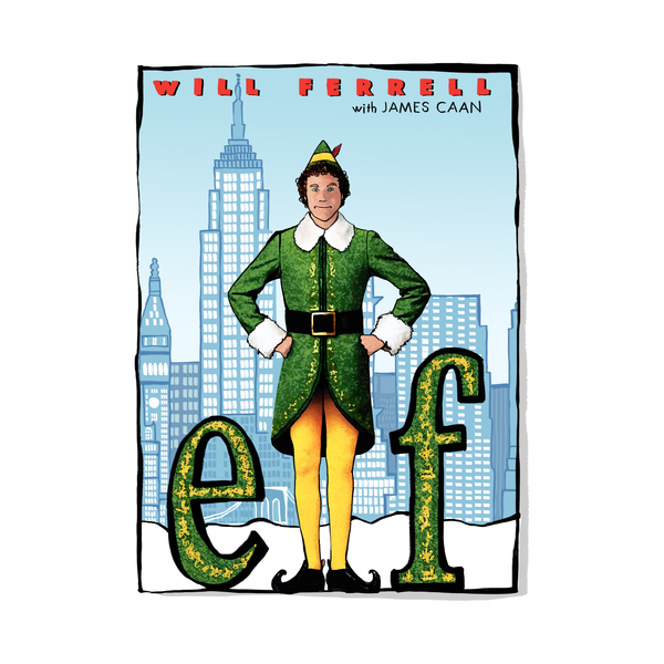 Large will ferrell elf