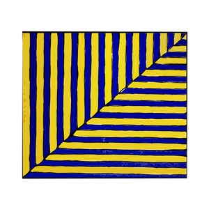 Medium frank stella untitled  rabat  from ten works by ten painters   1964