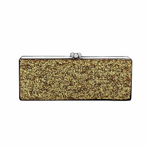Medium edie parker gold bag