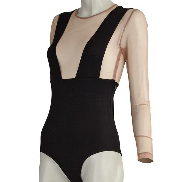 75f20b45c50b1 Fleur du Mal - Suspender bodysuit - Semaine